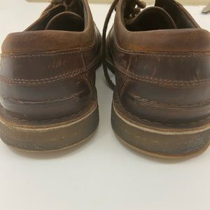 UGG Shoes - UGG LACE UP LEATHER BROWN SHOE